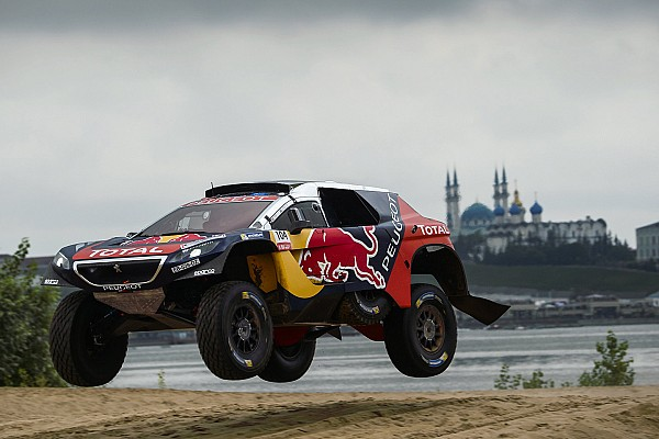 Silk Way Rally: Peugeot in command as Loeb chases Despres