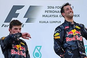 Formula 1 Breaking news Ricciardo: Verstappen hype could be good for my reputation