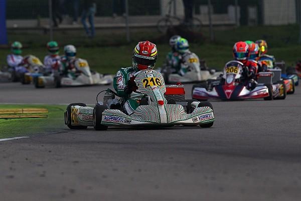 Kart Vidales, bien posicionado para la final de la WSK Final Cup