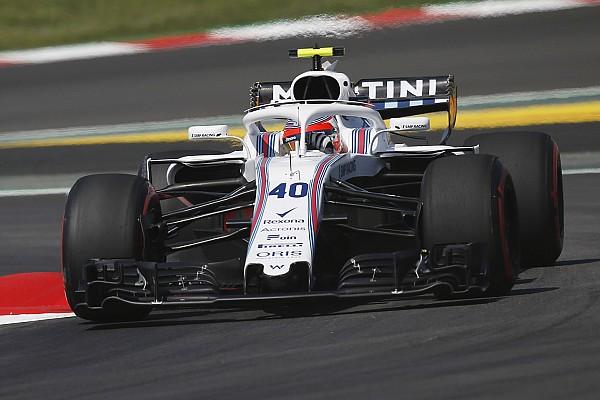 Kubica says Williams F1 car