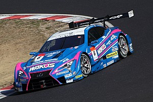 Super GT Testing report Lexus dominates first Super GT test day, Button sixth