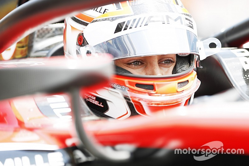 Red Bull Ring F2: Russell sets practice pace