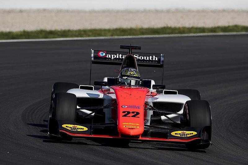 Бокколаччи заглох на старте прогревочного круга, но выиграл гонку GP3