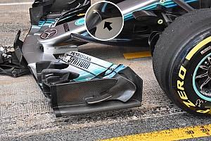 Forma-1 Elemzés Beindult a Mercedes, sorban jönnek az új aeroalkatrészek