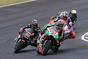 MotoGP Últimas notícias Espargaró troca farpas com a Pramac por lance com Petrucci