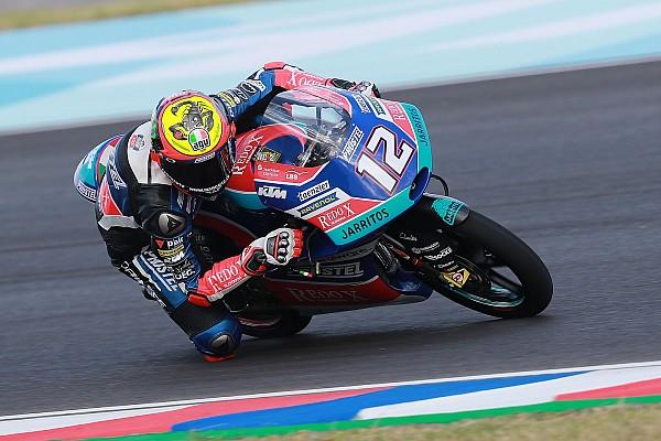 Moto3 Rennbericht Moto3 Argentinien: Marco Bezzecchi gewinnt für PrüstelGP