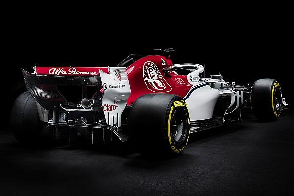 Formule 1 Diaporama Photos - L'Alfa Romeo Sauber C37 sous toutes les coutures