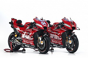Ducati unveils new livery for 2019 MotoGP season