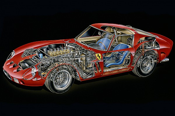 Vintage Cutaway analysis: Ferrari 250 GTO