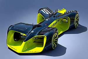 Формула E Новость Дебютная гонка «беспилотников» Roborace закончилась аварией