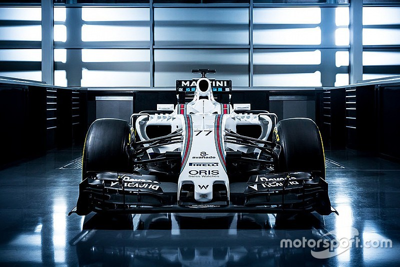 فريق ويليامز يكشف عن سيارته الجديدة لموسم 2016