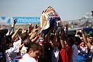MotoGP GALERI: Selebrasi kemenangan Marquez di Aragon
