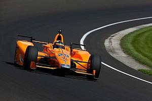 IndyCar BRÉKING Alonso rendkívül boldog az utolsó edzéssel