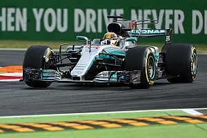 Formel 1 Trainingsbericht Formel 1 2017 in Monza: Mercedes eine Sekunde vor Ferrari