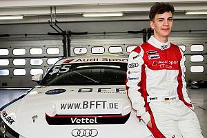 Nom : Vettel, prénom : Fabian, profession : pilote Audi TT Cup