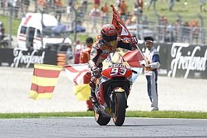 Márquez comemora antecipação do teste da Honda