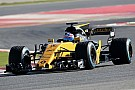 Renault and Haas F1 2017 cars hit the track at Barcelona