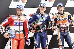 MotoGP Actualités Cinq GP pour trois prétendants au titre, qui ne font pas de pronostics