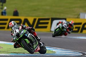 Superbike-WM Rennbericht Superbike-WM in Donington: Jonathan Rea holt 100. Kawasaki-Sieg