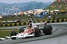 Vintage Hakkinen corre com McLaren M23 de Emerson Fittipaldi