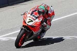 WSBK Gara Laguna Seca, Gara 1: Davies porta in trionfo la Ducati tricolore