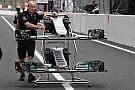 Explicación: Cómo Mercedes sigue explotando la aerodinámica en el W08