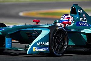 Formula E Breaking news Blomqvist admits Formula E was