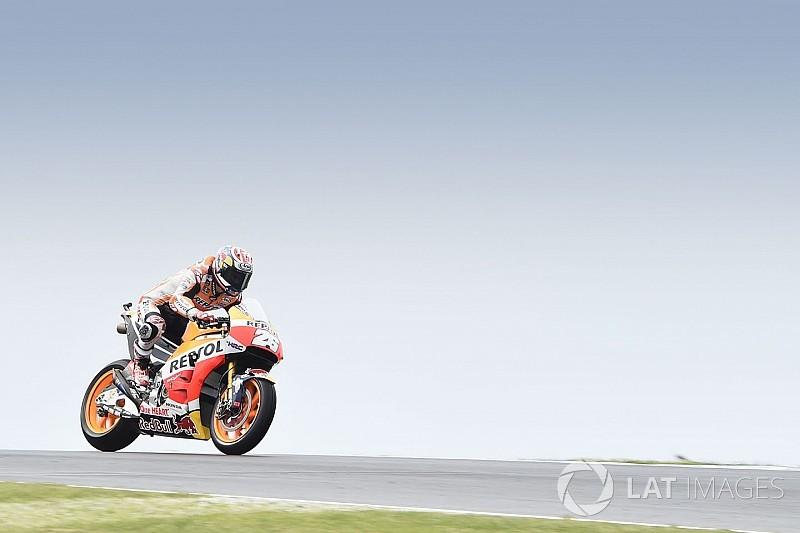 Гран Прі Австралії: Маркес виграв дощову розминку