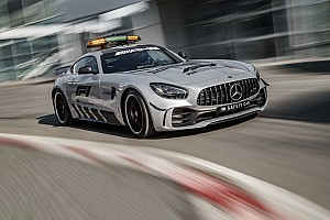 In beeld: Dit is de nieuwe Mercedes F1 Safety Car