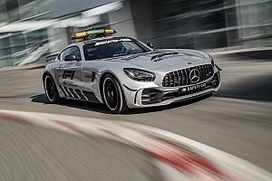 In beeld: Dit is de nieuwe Mercedes F1 Safety Car