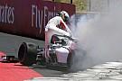 Ericsson explique pourquoi il s'est extrait lentement de sa F1 en feu