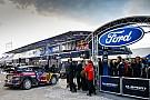 WRC M-Sport ontvangt fabrieksondersteuning van Ford in het WRC