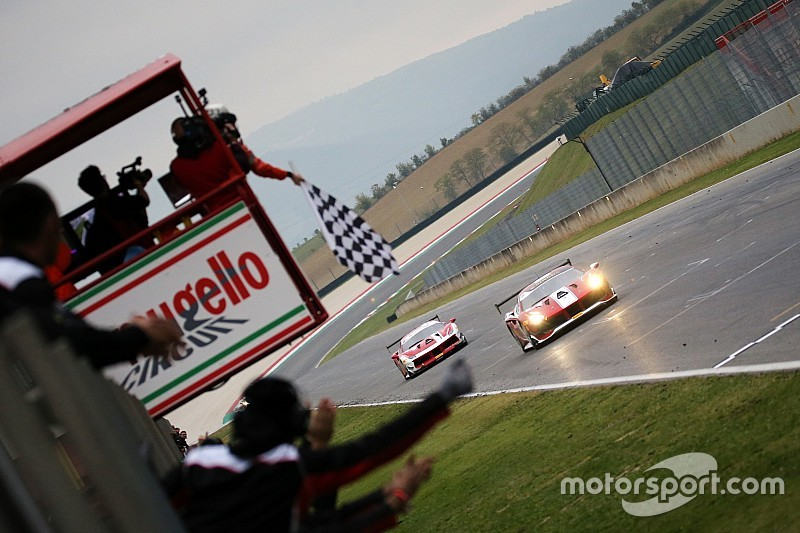 Ferrari World Finals: Nielsen wins red-flagged Europe finale