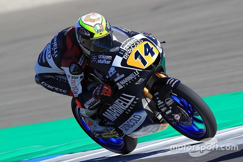FP2 Moto3 Inggris: Arbolino ungguli Bezzecchi-Antonelli