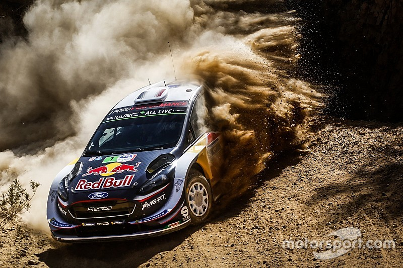 WRC Rallye Mexiko 2018: Loebs Pech ist Ogiers Glück