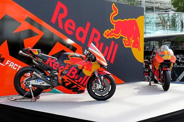 KTM presenta su motocicleta para MotoGP