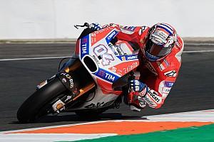 MotoGP Réactions Le comportement en virage, l'axe de progression principal de Ducati