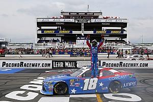 NASCAR XFINITY Race report Kyle Busch wins Pocono Xfinity race, but fails post-race inspection