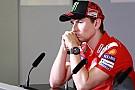 MotoGP ロレンソ「契約を延長できない可能性が生じて、新たな選択を迫られた」