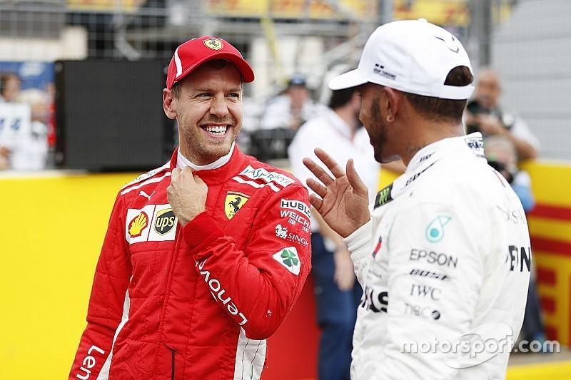 Hamilton quiere tener más duelos con Vettel