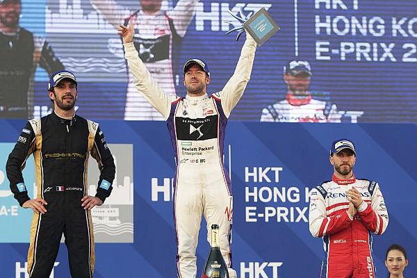 """揭幕战香港ePrix第一回合:伯德战胜维尔恩取得""""开门红"""""""
