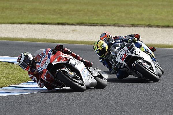 """MotoGP Lorenzo: """"Salvo el carenado, sólo hemos mejorado pequeñas cosas"""""""