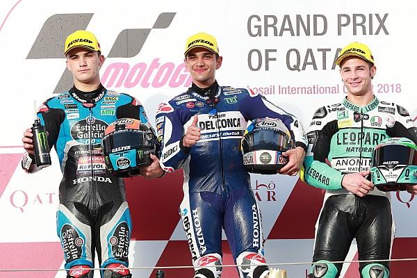 Moto3 Résumé de course Martín résiste à Canet pour s'offrir la première manche de la saison