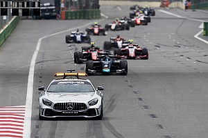 FIA F2 Breaking news F2 resorts to rolling starts due to clutch problems