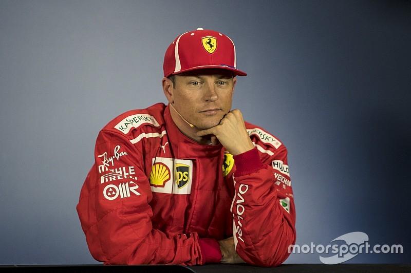 Räikkönen, sorriso amaro: