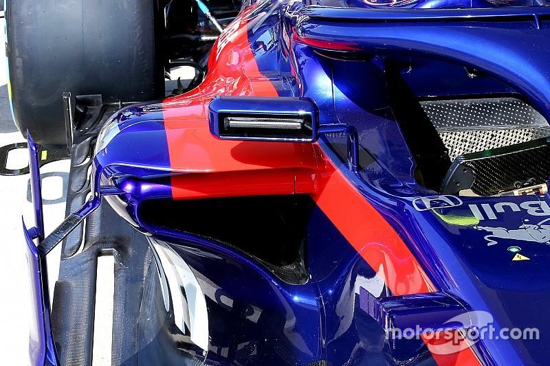 Du nouveau sur les rétroviseurs Toro Rosso et Mercedes