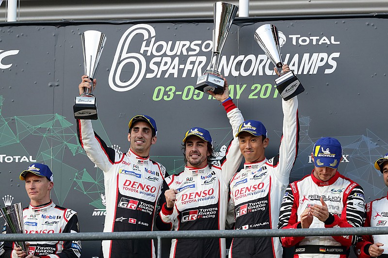 Buemi lobt: Fernando Alonso als Teamkollege