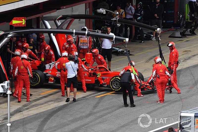 Falha de motor não fará Kimi precisar trocar unidade