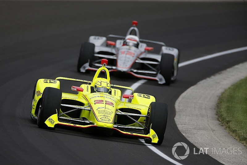 Simon Pagenaud le plus rapide à Indy !