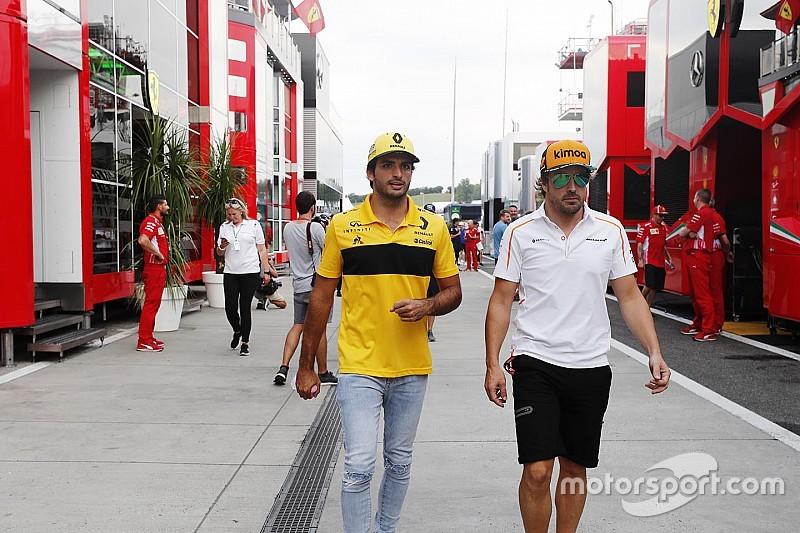 """De la Rosa prevê que Sainz sofreria contra """"monstro"""" Alonso"""